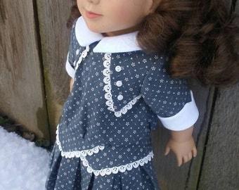 1914 dress for Rebecca Rubin American Girl My Twinn 18 inch doll