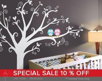 Lovely tree Wall Decal - Nursery Wall Décor