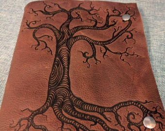 Twisted Tree Leather journal/ sketchbook