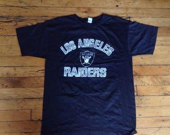 Vintage NFL Los Angeles Raiders t shirt XL