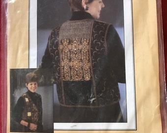 Amber's Vest Merchant Rag pattern