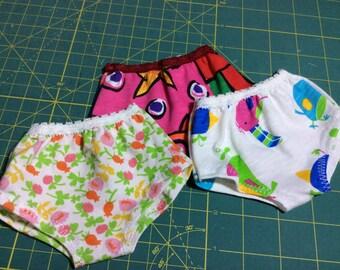 """Doll clothes, undies, underwear, 15-18"""" Waldorf, American Girl"""