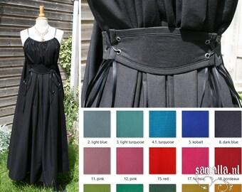 Shea Handmaiden / Grecian Dress 2.0 - <MADE TO ORDER> - one size - (Larp, Cosplay, Ren Faire, Festival) - Cotton, various colours