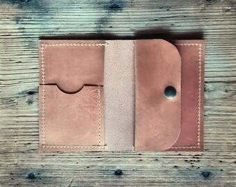 Leather wallet, man wallet, slim wallet, wallet for man, personalized wallet, bifold wallet, gift for boyfriend, leather card holder