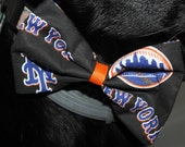 New York Mets Dog Bow/Bow Tie Accessory