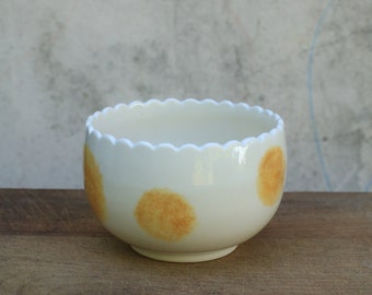 Tulip tea bowls