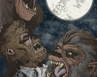 Three Wolfman Moon