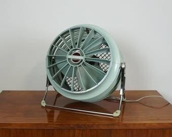Hold Riviera R 2020  fan / Aqua blue vintage desk fan / Retro table fan / Westinghouse electric fan / Two speed table fan