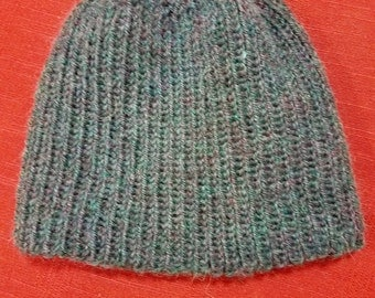 Knitted Watchman Style Hat Pattern