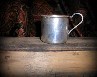Vintage Trent Silverplate Baby Mug Child's Cup No Monograms