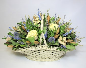 Dried Flower Arrangement, Centerpiece