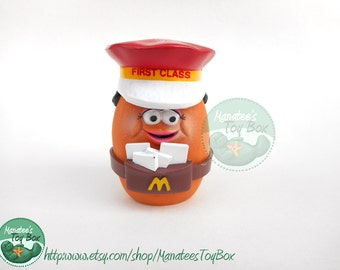 McDonalds McNugget Buddy First Class 1980s Toy