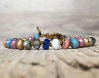 Boho Chic Bracelet - Friendship Bracelet - hippie boho - boho bracelet - hippie bracelet - best friend gift - boho jewelry for girlfriend