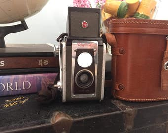 Vintage 1950s Kodak Duaflex IV Camera with Kodet Lens