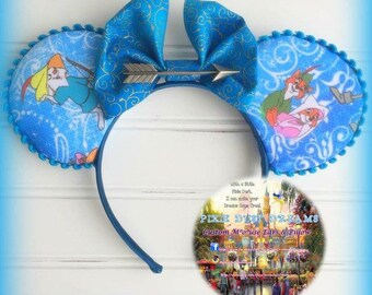 RTS Adorable Exclusive Classic Robin Hood Mouse Ears!!