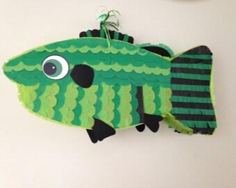 Large Bass Fish Pinata