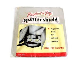 Aluminum Splatter Guard Protect 'n Fry Spatter Shield