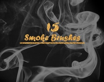 15 .ABR Smoke Brushes for Photoshop