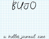 BUJO - A Bullet Journal Zine: Postage Saver PDF