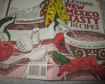 Vintage The Genuine New Mexico Tasty Recipes cookbook