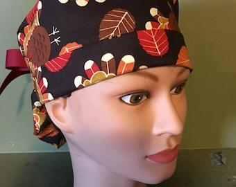 Turkey scrub cap