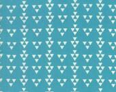 Geometric Turquoise Fabric - Desert Bloom by  Sherri Chelsi from Moda 1 Yard