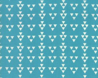 Geometric Turquoise Fabric - Desert Bloom by  Sherri Chelsi from Moda 1/2 Yard