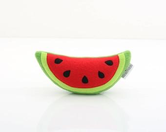 Watermelon Plush - Watermelon Toy (Neon Green/Green/Bright Red)