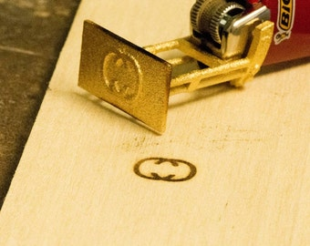 mini branding iron for bic lighter unique gift personalized braning iron custom branding iron personalized wood burning stamp steampunk