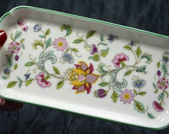 Minton Bicentenary Haddon Hall Pattern Oblong Tray