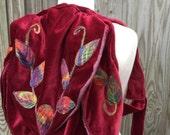 RESERVED for Oana Faerie Backpack-woodland bag-backpack-hiking bag-forest backpack-leaf bag-rucksack-fairy bag-woodland accessory