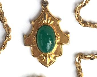 Green Gold pendant