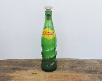Vintage Squirt Soda Bottle With Ironing Sprinkle Top