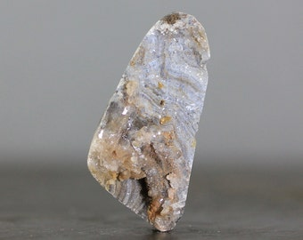 Chlacedony Druzy Conchas Agate, Sparkling Geode (CA6877)