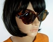 FINAL PAIR REDUCED 60s Mod style Faux tortoise shell reproduction sunglasses