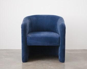 Minimalist Velvet Chair