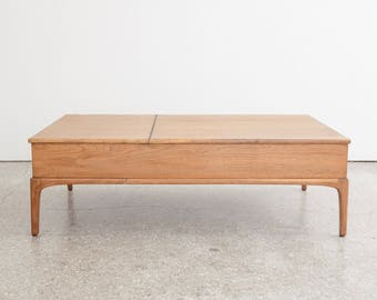 Mid Century Lift Top Coffee Table