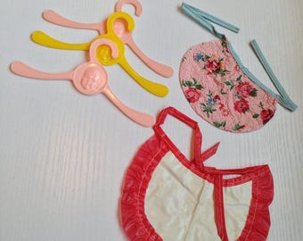 Vintage Dolly Bibs and Hangers