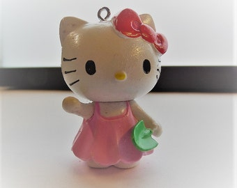 Hello Kitty Inspired Pendant, 40mm approximately  P63