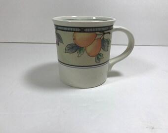 Mikasa Intaglio Garden Harvest 10 oz Coffee Mugs (8)