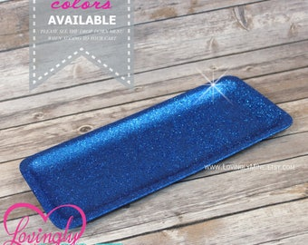 Glitter Tray in Royal Blue | Sweets Dessert Table Decorations | Birthday, Baby Shower, Bridal Shower, Wedding | Additional Colors Available