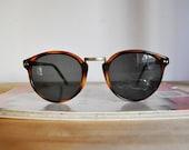 90s Deadstock Tortoiseshell Oval Sunglasses