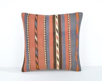 Kilim pillow cover, kp1722, Kilim Pillow, Turkish Pillow, Kilim Cushions, Kilim, Moroccan Pillow, Bohemian Pillow, Turkish Kilim