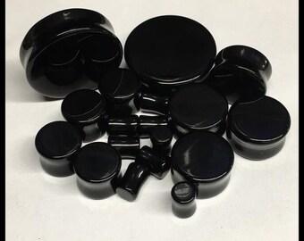 PICK SIZE Onyx Stone Organic Stone Plugs