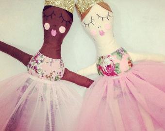 Princess, RosieDoll, Handmade doll, Rag doll, Dolly, Princess ragdoll