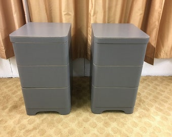 Mid Century Modern Cavalier end tables, nightstands, table set (2)