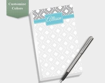 Diamond Note Pad, Custom Notepad, Personalized Notepad