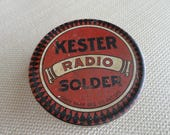 Vintage Kester Radio Solder Tin    C919