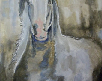 Original ACEO Horse reproduction#8 art card -: rdoward fine art