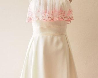 Flash Sale Bella - White Dress, White Wedding Dress, Romantic Vintage Inspired White Lace Dress, Quinn Dress Boho White Party Bridesmaid ...